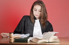 Young lawyer Royalty Free Stock Image
