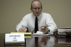 Young Lawyer Attorney At Desk Businessman Negotiations Stock Photos