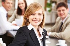 Young leader Royalty Free Stock Photos