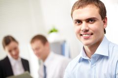 Young leader Stock Images