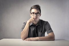 Young leader Royalty Free Stock Images