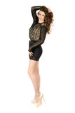 Young leggy woman Royalty Free Stock Image