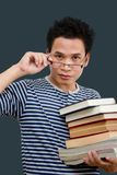 Young librarian Royalty Free Stock Image