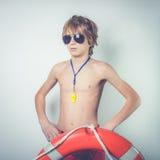 Young lifeguard Royalty Free Stock Image