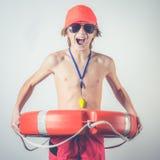 Young lifeguard Stock Photography