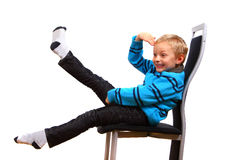 Young And Lifely Boy Stock Images