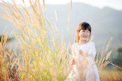 Young little Asian girl Royalty Free Stock Photography