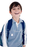 Young little boy laughing happily Stock Photos