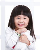 Young little girl Royalty Free Stock Image