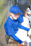 Young Little League player Stock Photography