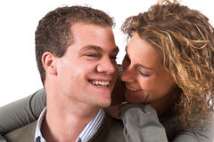 Young and in love Royalty Free Stock Image