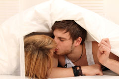 Young love Stock Photography
