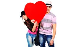 Young love Royalty Free Stock Photography