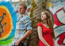 Young Love Royalty Free Stock Photo