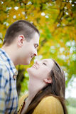 Young Love Stock Image