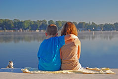 Young love Royalty Free Stock Photos