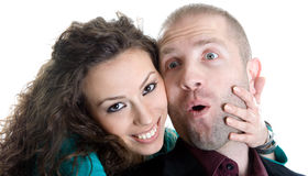 Young Love Couple Stock Photos