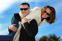 Young love couple Royalty Free Stock Photos