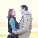 Young love couple Stock Photos