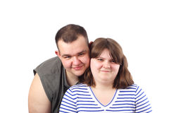 Young Love Couple Smiling Royalty Free Stock Photo