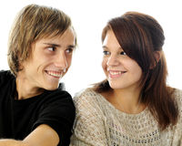 Young Love Portrait Stock Photos