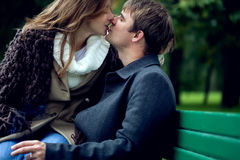 A young lovely couple Royalty Free Stock Image