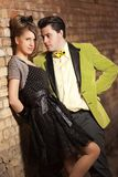 Young Lovely Couple Royalty Free Stock Photography