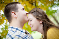 Young Lovers Royalty Free Stock Photo