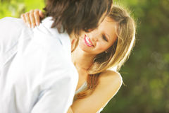 Young lovers Stock Images
