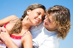 Young lovers Royalty Free Stock Photography