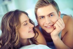 Young lovers Stock Image