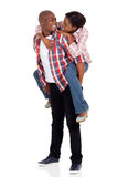Young loving african couple Stock Photography