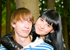 Young loving couple Stock Image