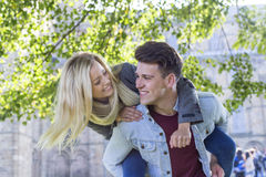 Young Loving Couple Stock Photography