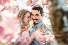 Young loving couple Royalty Free Stock Photos