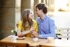 Young loving couple Royalty Free Stock Photography