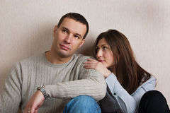 Young loving couple. Stock Photography