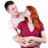 Young loving people Stock Photo