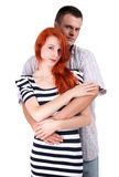 Young loving people Royalty Free Stock Image