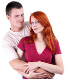 Young loving people Stock Images