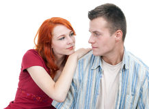 Young loving people Royalty Free Stock Photo