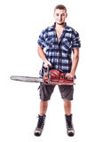 Young Lumberjack Stock Photos