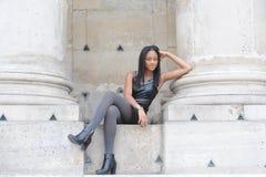 Young métis woman Stock Photos