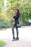 Young métis woman Stock Image