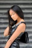 Young métis woman Stock Photo