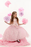 Young magic fairy Stock Image