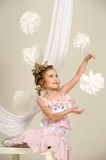 Young magic fairy Stock Images