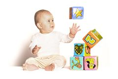 The young magician royalty free stock images