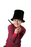 Young magician boy Royalty Free Stock Photos