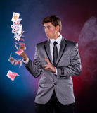 Young magician Royalty Free Stock Photo